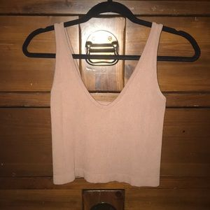 Free People Intimately cropped tank top